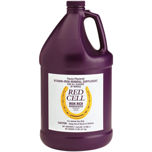 Red Cell Liquid: Iron Supplements for Horses